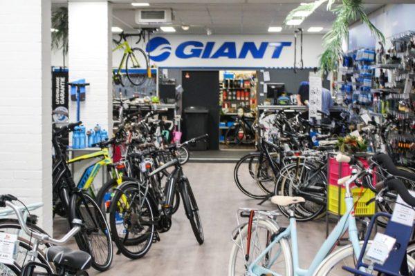 winkeloverzicht fietsenmaker